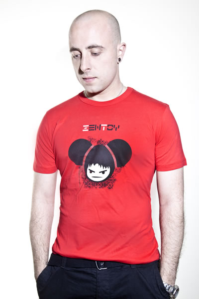 ZenToy - T-Shirt Rouge Homme